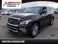 This 2016 INFINITI QX80 is proudly offered by Melloy