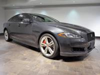 **CERTIFIED**  This 2016 Jaguar XJR Long Wheel-base is