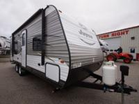 This is a brand new travel trailer with Jayco's 2 year