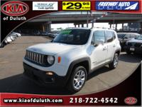 This 2016 Jeep Renegade 4WD 4DR LATITUDE is a real