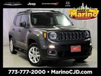 JEEP CERTIFIED!! 7 YEAR - 100,000 MILE WARRANTY!!