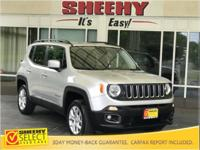 2016 Jeep Renegade Latitude Navigation 4WD CARFAX