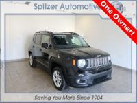 Jeep Renegade Latitude CARFAX One-Owner. Clean CARFAX.