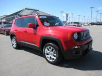 CARFAX One-Owner. Clean CARFAX. Red 2016 Jeep Renegade