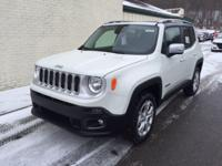 Introducing the 2016 Jeep Renegade! Demonstrating that