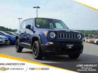 2016 Jeep Renegade Sport 4WD 9-Speed 948TE Automatic