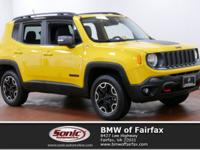 2016 Jeep Renegade Trailhawk 4x4 with 17,000 Miles!