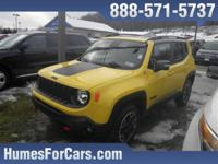 Checkout this Humes 2016 Solar Yellow Jeep Renegade