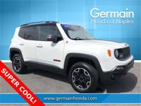 2016 Jeep Renegade Trailhawk Odometer is 14958 miles