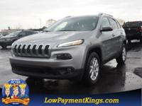 CARFAX One-Owner. Clean CARFAX. Silver 2016 Jeep