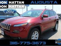 CARFAX One-Owner. Red 2016 Jeep Cherokee Latitude 4WD