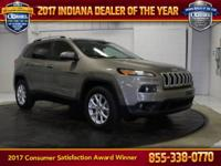 2016 Jeep Cherokee Latitude Light Brownstone Pearlcoat