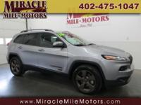 Hard to Find 75th Anniversary Cherokee with Low Miles.