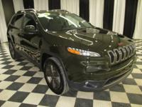 OVERVIEW This 2016 Jeep Cherokee 4dr features a 2.4L 4