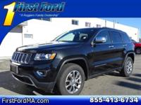 CARFAX One-Owner. Clean CARFAX. Black 2016 Jeep Grand