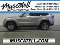 Introducing the 2016 Jeep Grand Cherokee! Stylish and