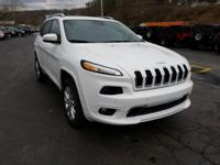 Look at this 2016 Jeep Cherokee Overland. Its Automatic
