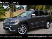 2016 JEEP GRAND CHEROKEE SUMMIT 4X4 4-DOOR