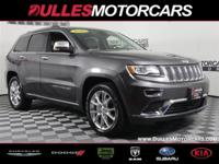 CARFAX One-Owner. Clean CARFAX. Gray 2016 Jeep Grand