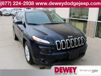 CAMERA, BLUETOOTH, CARFAX One-Owner. 2016 Jeep Cherokee