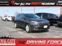 New Price! 2016 Jeep Cherokee 2.4L 4-Cylinder SMPI SOHC