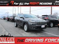Recent Arrival! New Price! 2016 Jeep Cherokee 3.2L V6