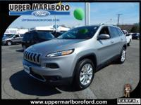 This Jeep Cherokee has a powerful Regular Unleaded I-4
