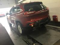 Options:  2016 Jeep Cherokee Latitude 4X4|Deep Cherry