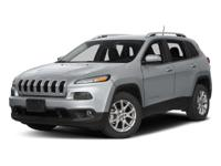 Black 2016 Jeep Cherokee Latitude 4WD 9-Speed 948TE