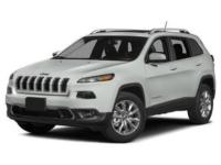 Introducing the 2016 Jeep Cherokee! Ensuring composure