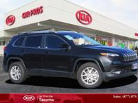 2016 Jeep Cherokee Latitude, with less than 9k miles,