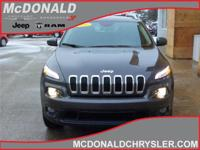 Options:  2016 Jeep Cherokee Latitude  4X4|Miles: