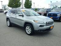 Check out this gently-used 2016 Jeep Cherokee we