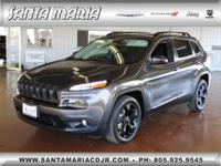 Options:  2016 Jeep Cherokee Latitude Altitude