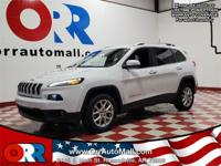 2016 Jeep Cherokee Latitude White 22/31 City/Highway