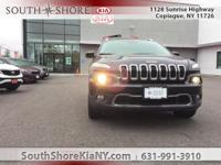 New Price! Black 4D Sport Utility 2016 Jeep Cherokee