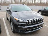 Options:  2016 Jeep Cherokee Limited|Granite Crystal