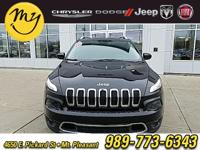 Options:  2016 Jeep Cherokee Limited|Black|Carfax