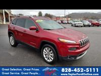 Options:  2016 Jeep Cherokee Limited|4X4 Limited 4Dr