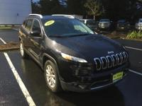 2016 Jeep Cherokee Limited in Brilliant Black Crystal