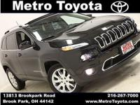 One Owner, Accident-free CARFAX! Cherokee Limited