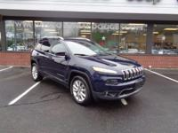 Certified Pre-Owned 2016 Jeep Cherokee Limited 4x4 with