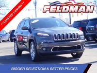 2016 Jeep Cherokee Limited 4X4 / 4WD / AWD, CALL