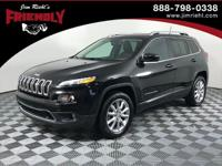 Recent Arrival! 2016 Jeep Cherokee Limited CARFAX