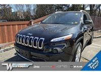CERTIFIED PRE-OWNED 2016 JEEP CHEROKEE LIMITED! LOCAL