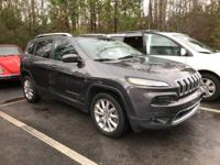 *2016 JEEP CHEROKEE LIMITED FULLY LOADED WITH ALL THE