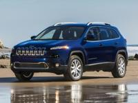 Recent Arrival! 2016 Jeep Cherokee Limited billet