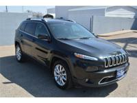 We are excited to offer this 2016 Jeep Cherokee. CARFAX