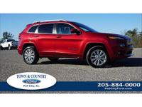 New Price! Clean CARFAX. Red 2016 Jeep Cherokee