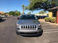 Options:  2016 Jeep Cherokee Sport 4X4 4Dr Suv|Silver|4